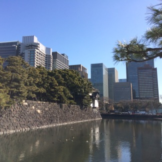 The moat at the Imperial Palace