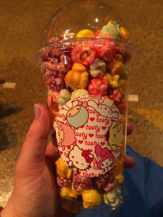 Rainbow popcorn!